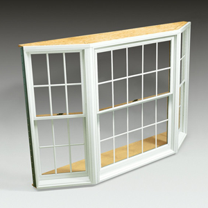 400 Series Tilt-Wash Double-Hung Bay Window